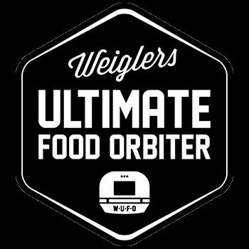 Weiglers Ultimate Food Orbiter Logo